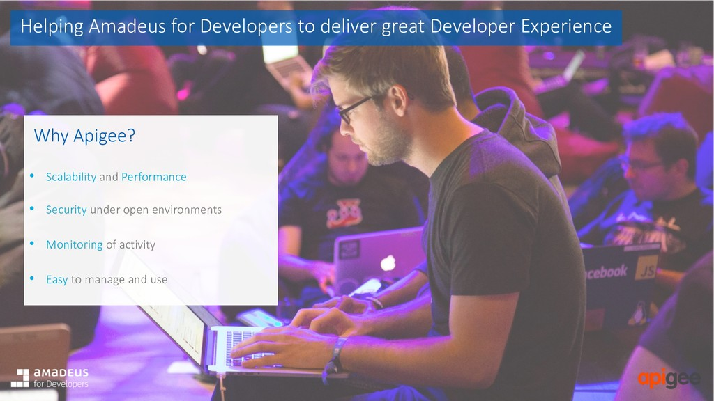 Helping Amadeus for Developers to deliver great...