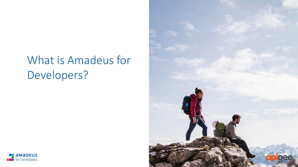 RESTRICTED Confidential What is Amadeus for Dev...