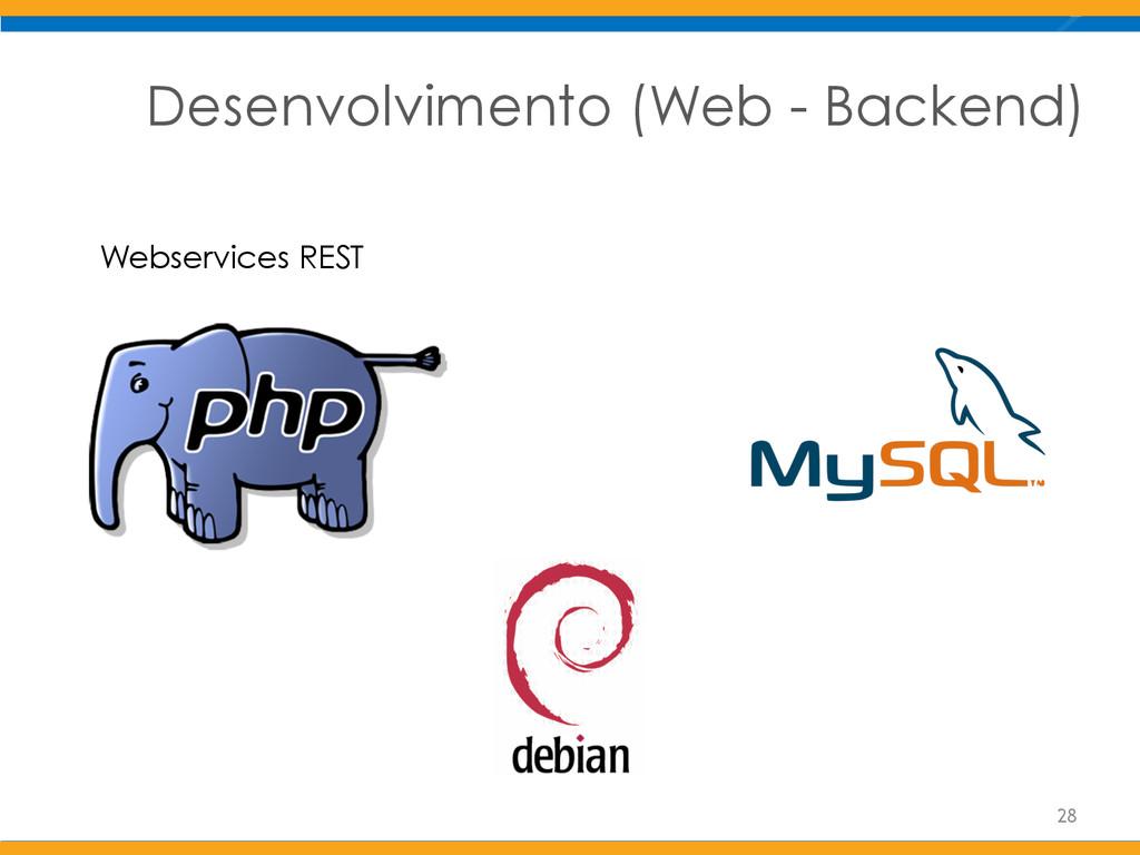 Desenvolvimento (Web - Backend) Webservices RES...