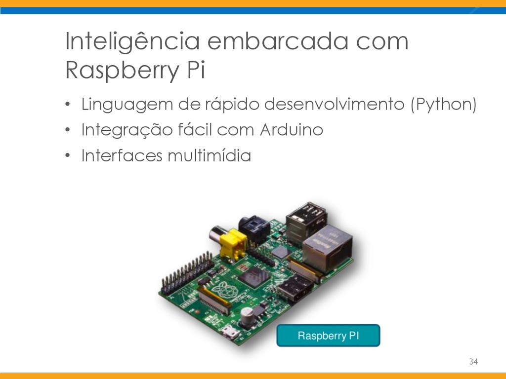 Inteligência embarcada com Raspberry Pi • Lingu...