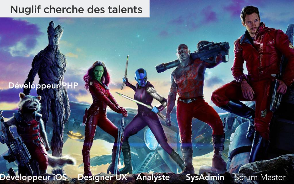 Nuglif cherche des talents SysAdmin Designer UX...