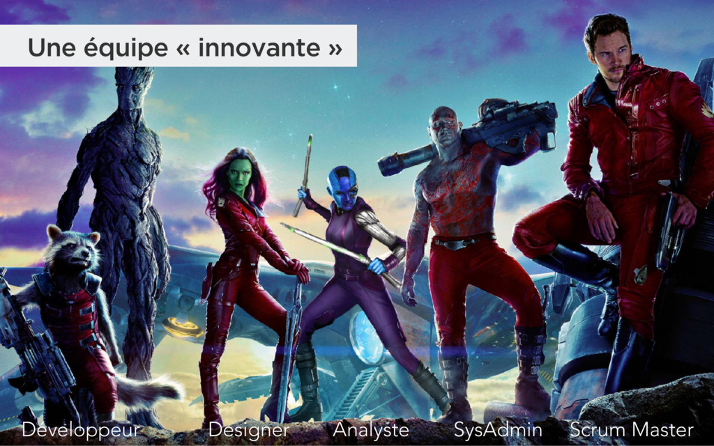 Une équipe « innovante » SysAdmin Designer Déve...