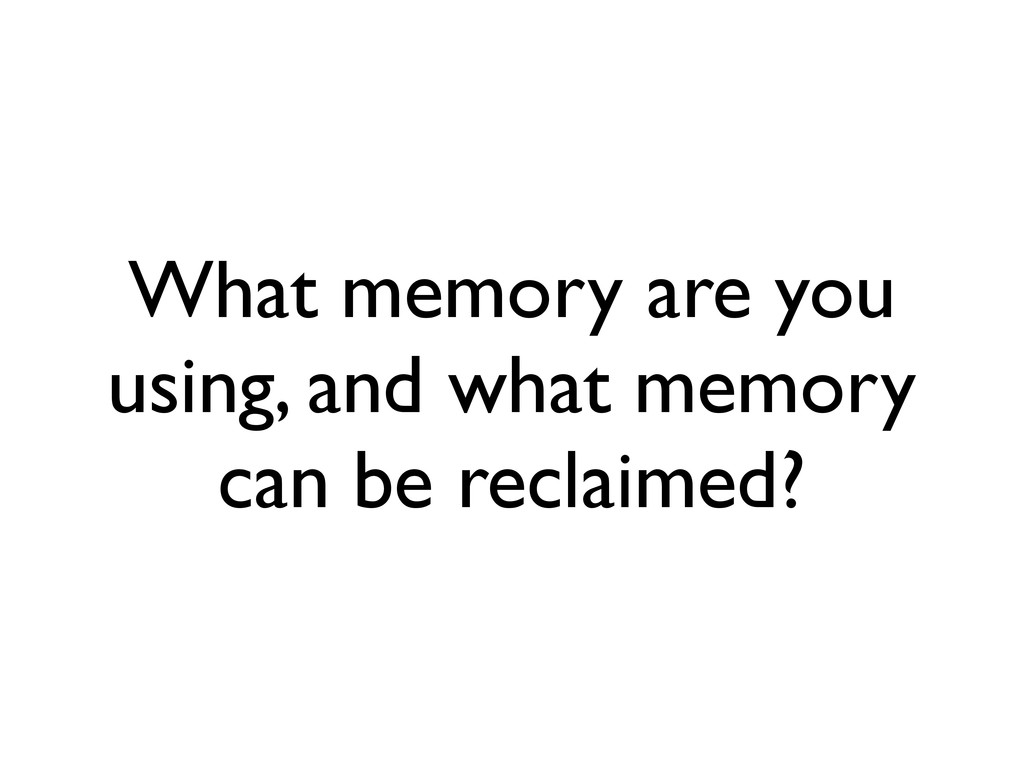 What memory are you using, and what memory can ...