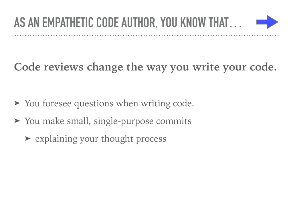 AS AN EMPATHETIC CODE AUTHOR, YOU KNOW THAT… Co...