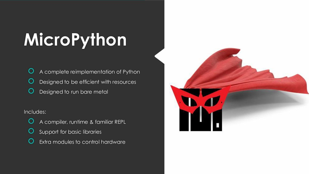 MicroPython  A complete reimplementation of Py...