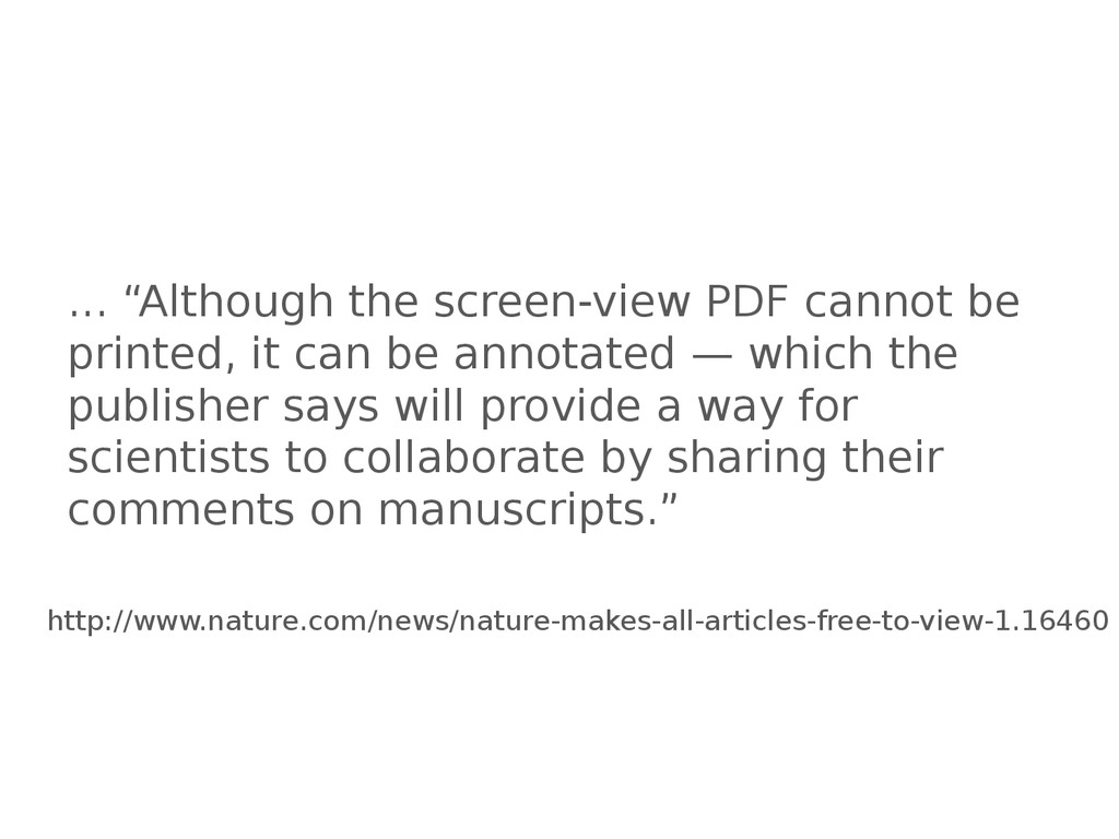 "... ""Although the screen-view PDF cannot be pri..."