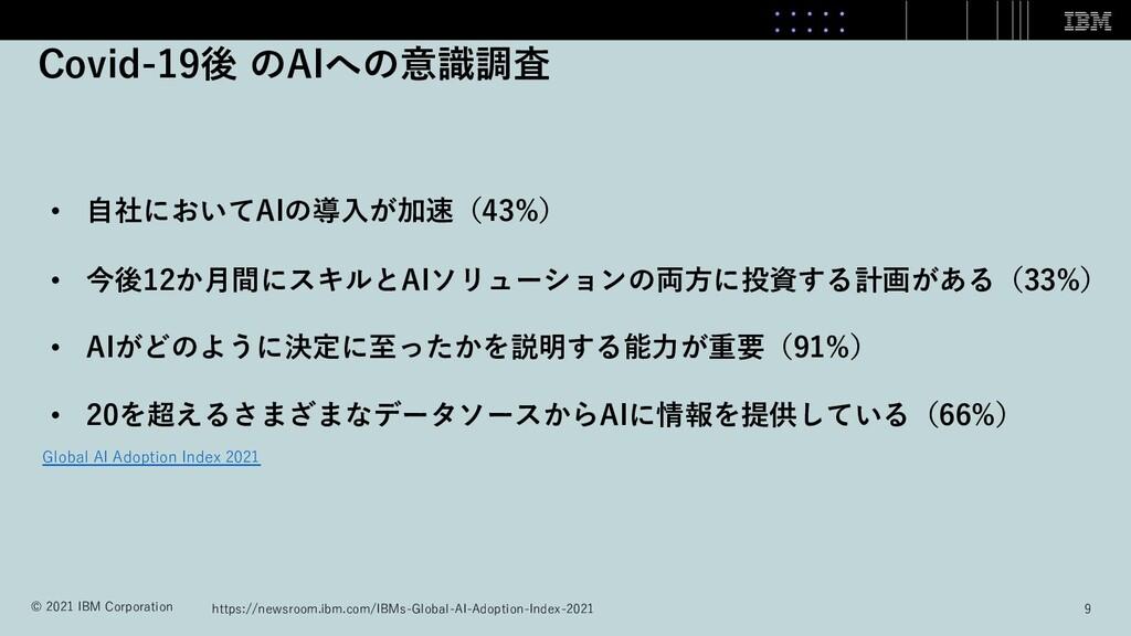 • ⾃社においてAIの導⼊が加速(43%) • 今後12か⽉間にスキルとAIソリューションの両...