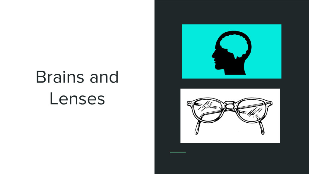 Brains and Lenses