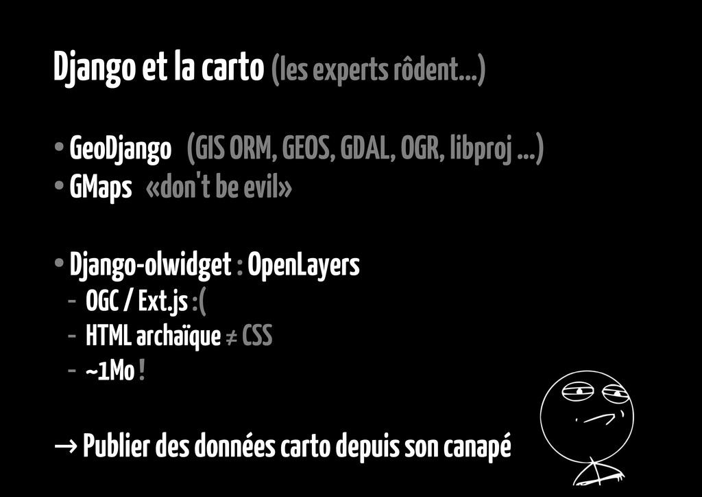 Django et la carto (les experts rôdent...) ● Ge...