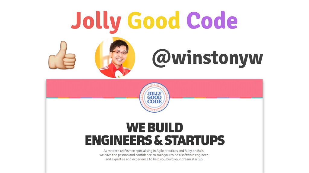 Jolly Good Code !winstonyw