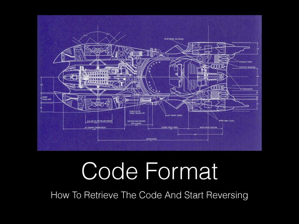 Code Format How To Retrieve The Code And Start ...