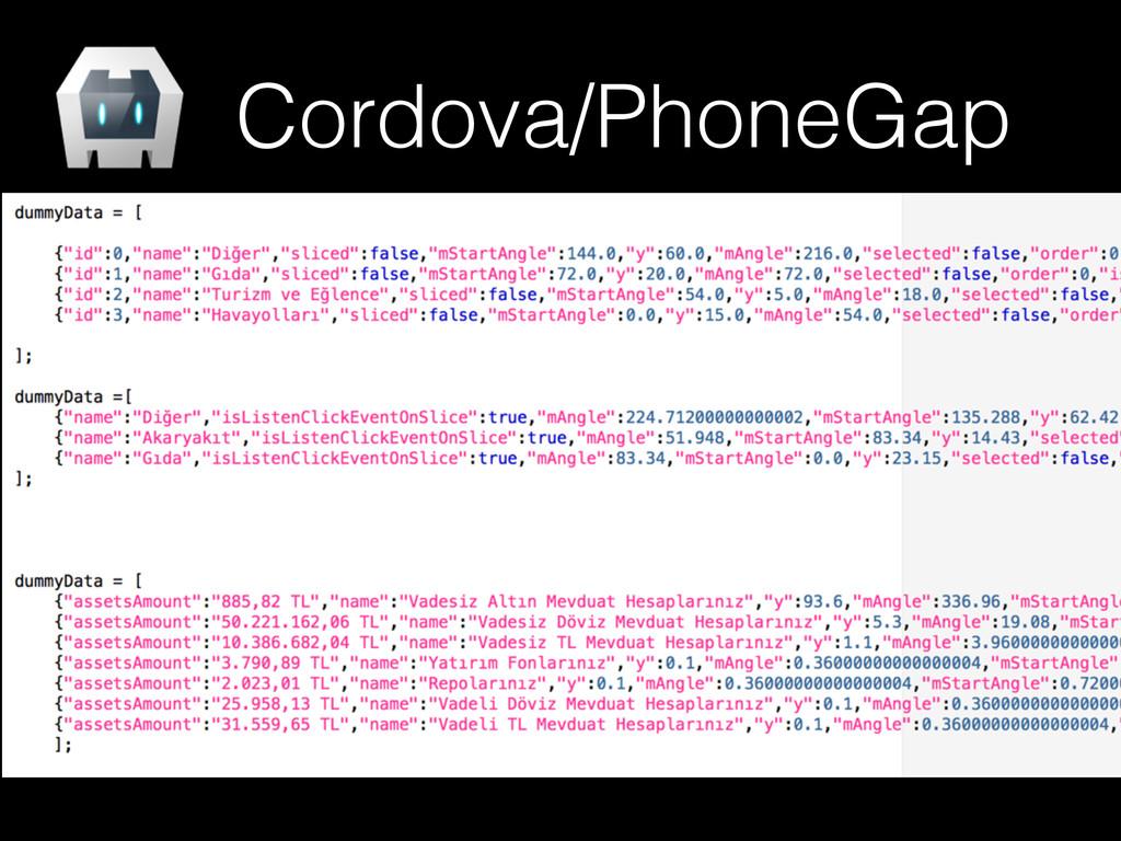 Cordova/PhoneGap
