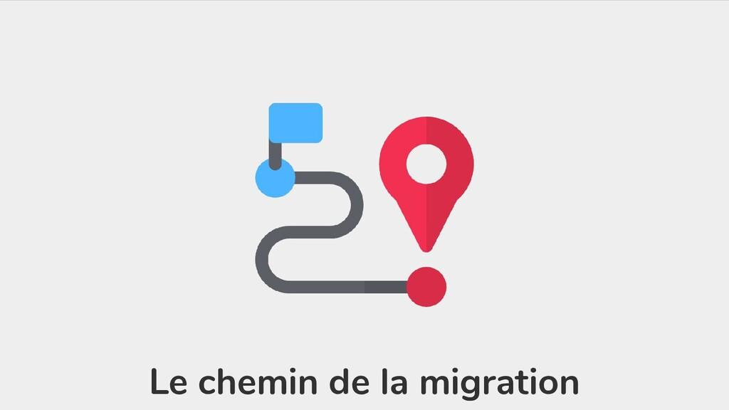 Le chemin de la migration