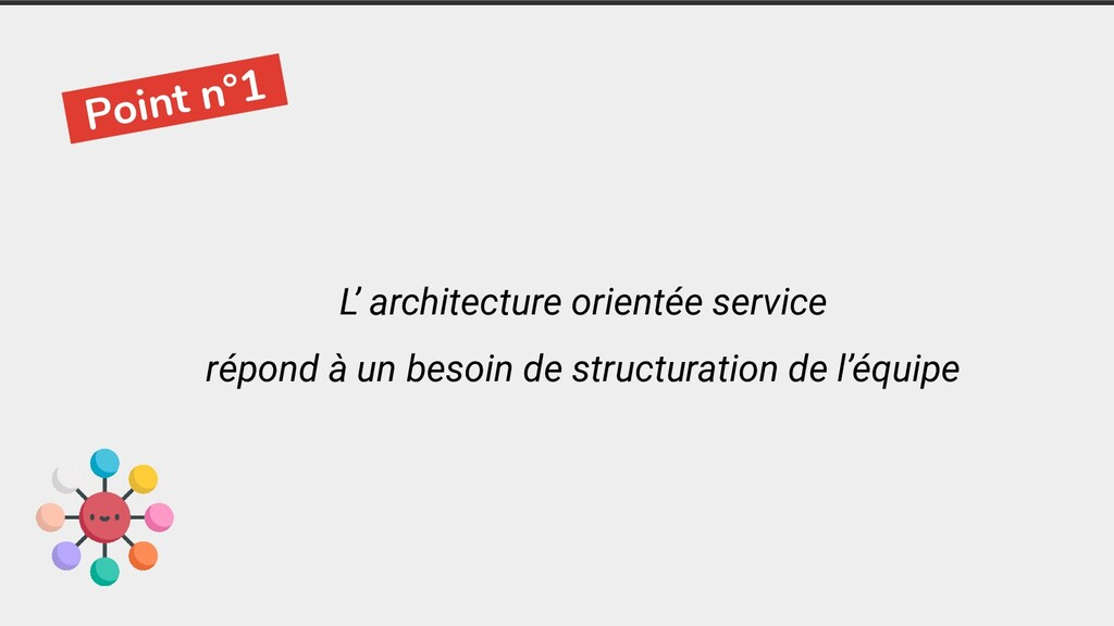 -Point n°1- L' architecture orientée service ré...
