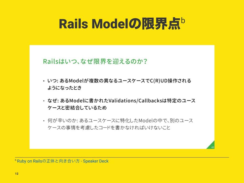 Rails Modelͷݶքb b Ruby on Railsͷਖ਼ମͱ͖߹͍ํ - Spe...