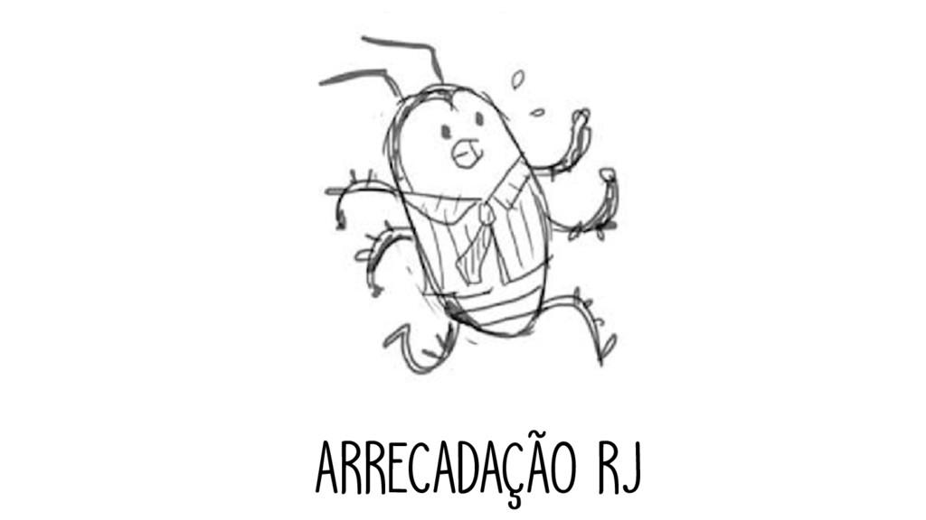 ARRECADAÇÃO RJ