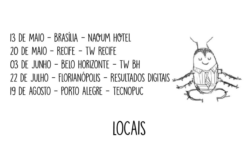 13 de MAIO - Brasília - Naoum Hotel 20 de MAIO ...