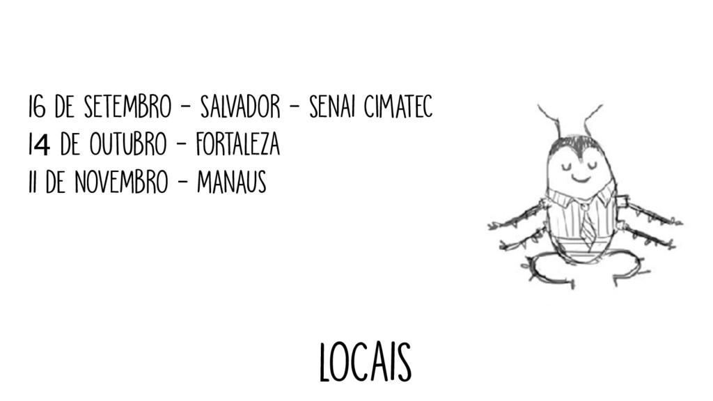 16 de SETEMBRO - SALVADOR - SENAI Cimatec 14 de...