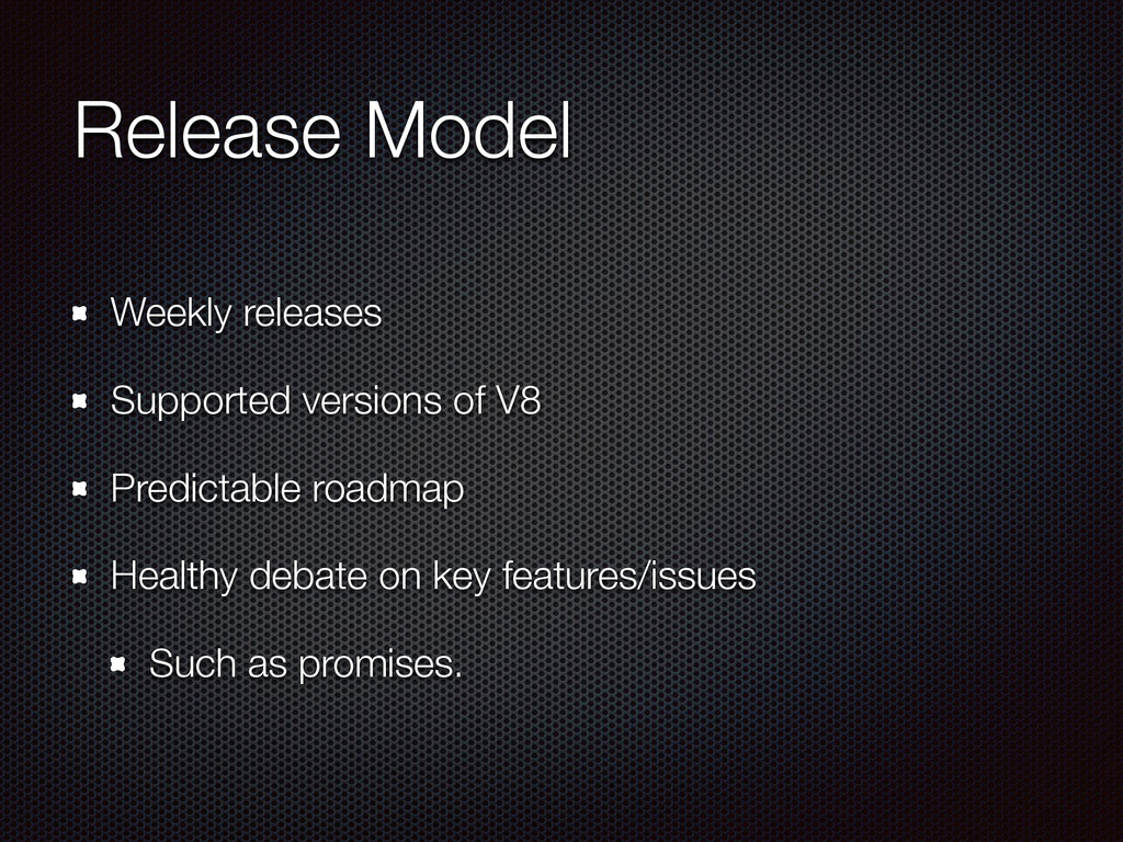 Release Model Weekly releases Supported version...