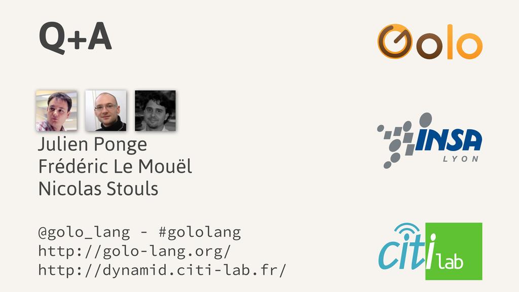 Q+A @golo_lang - #gololang http://golo-lang.org...