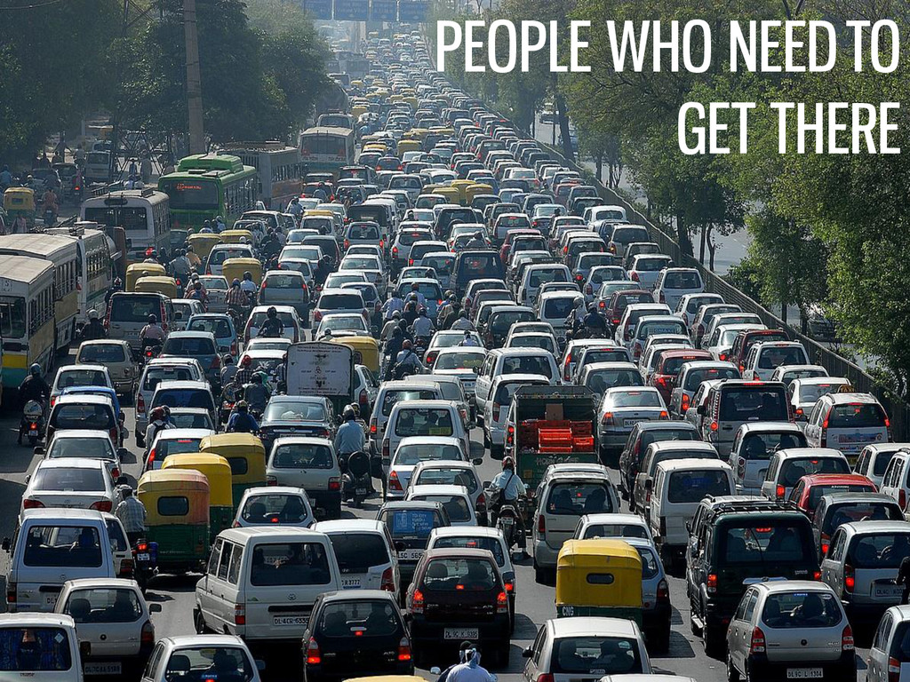 PEOPLE WHO NEED TO GET THERE
