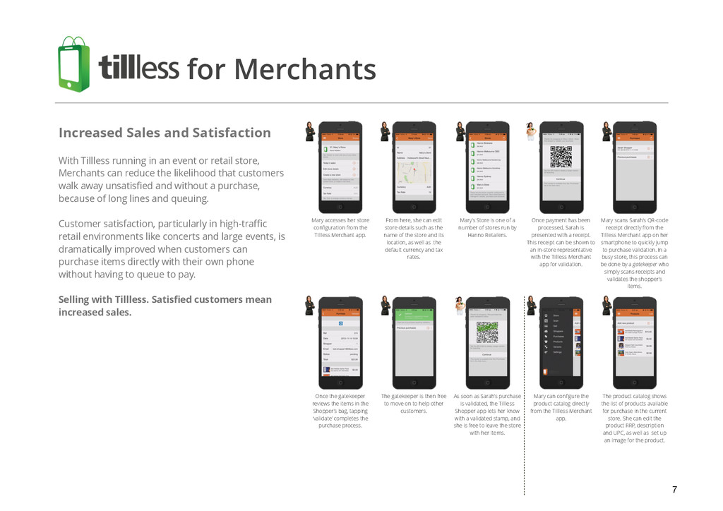 7 Increased Sales and Satisfaction ! With Tilll...