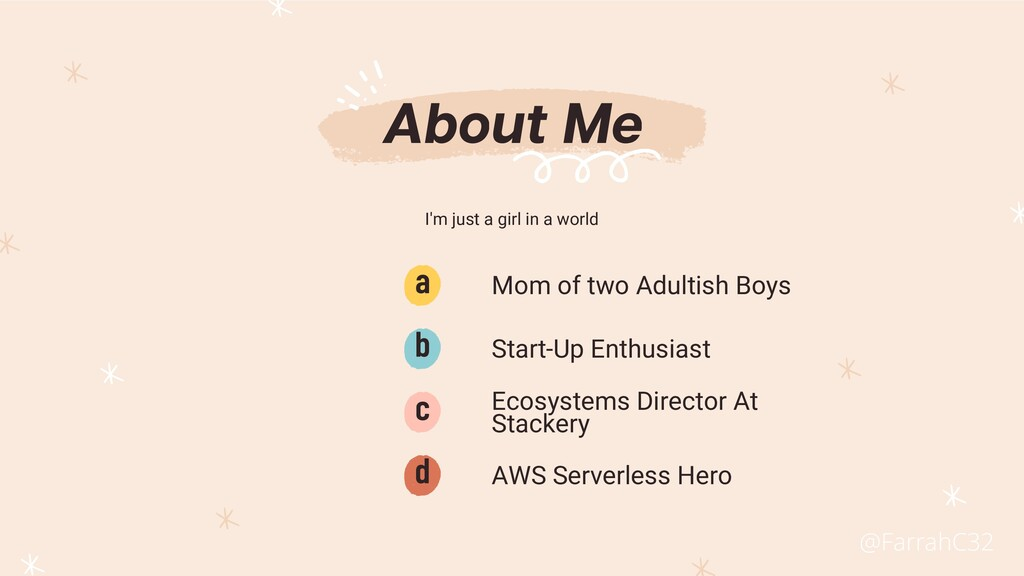Mom of two Adultish Boys a AWS Serverless Hero ...