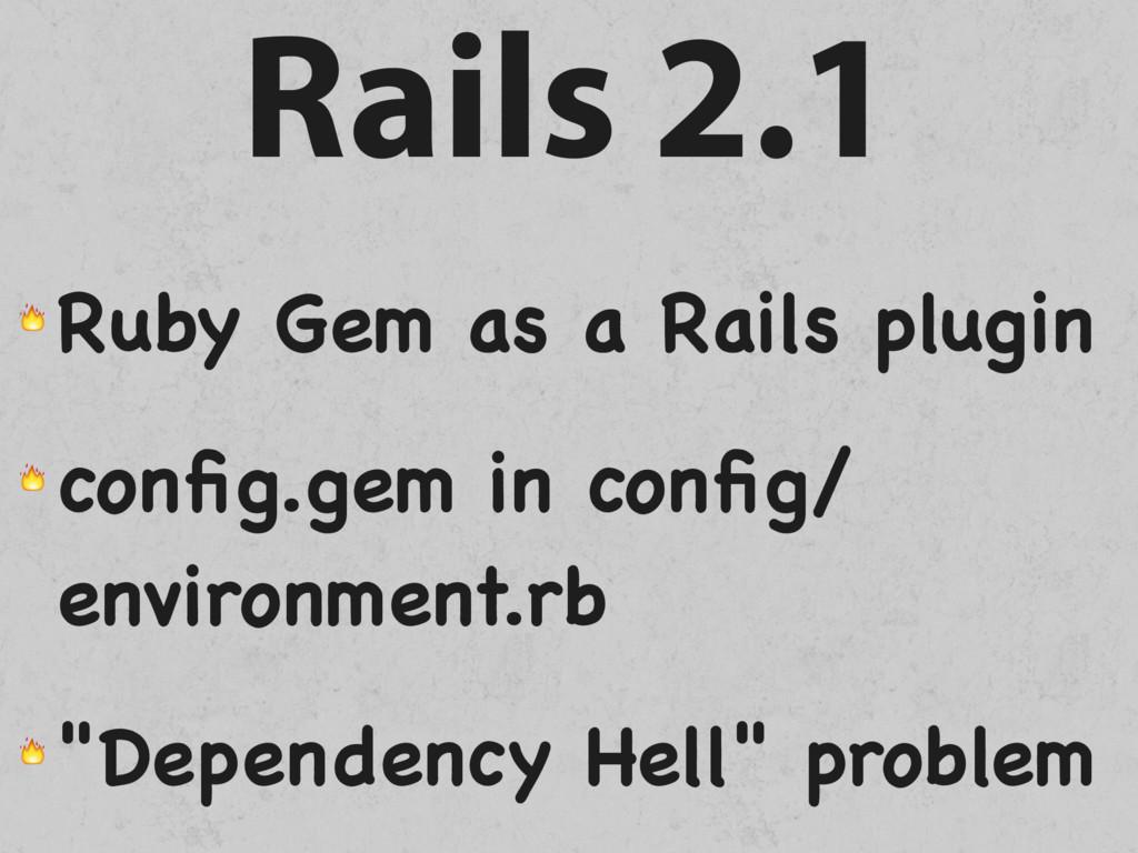 Rails 2.1  Ruby Gem as a Rails plugin  config.ge...