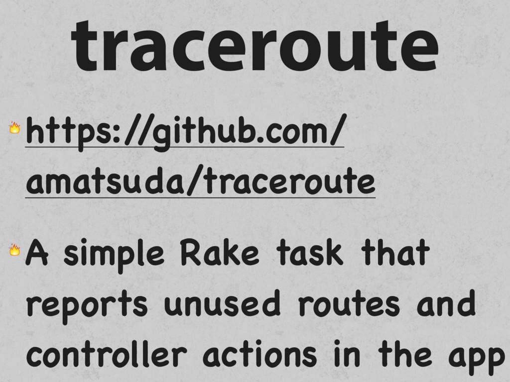 traceroute  https:/ /github.com/ amatsuda/trace...