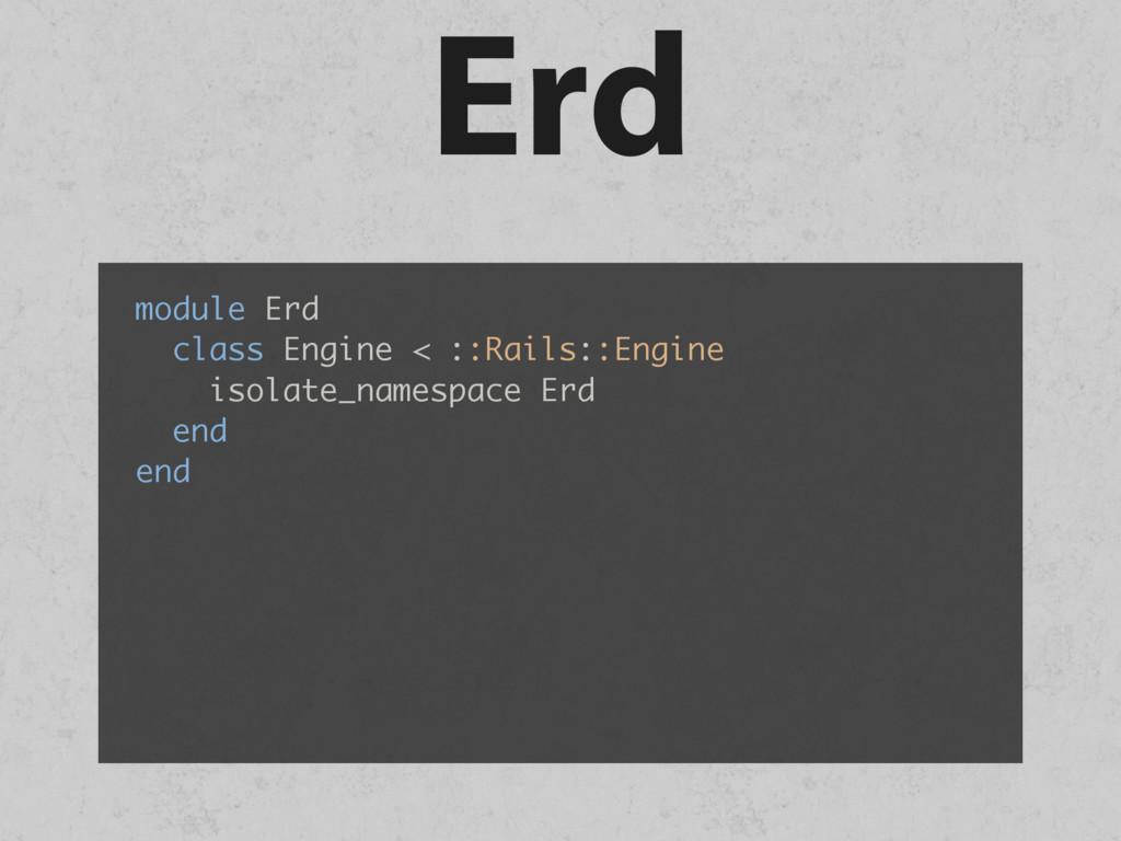 Erd module Erd class Engine < ::Rails::Engine i...
