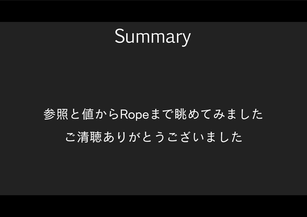 Summary রͱ͔Β3PQF·ͰோΊͯΈ·ͨ͠ ͝ਗ਼ௌ͋Γ͕ͱ͏͍͟͝·ͨ͠
