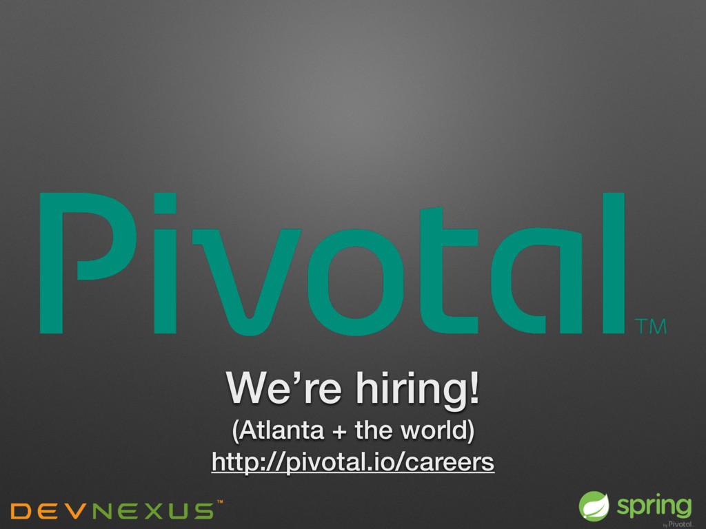 We're hiring! (Atlanta + the world) http://pivo...