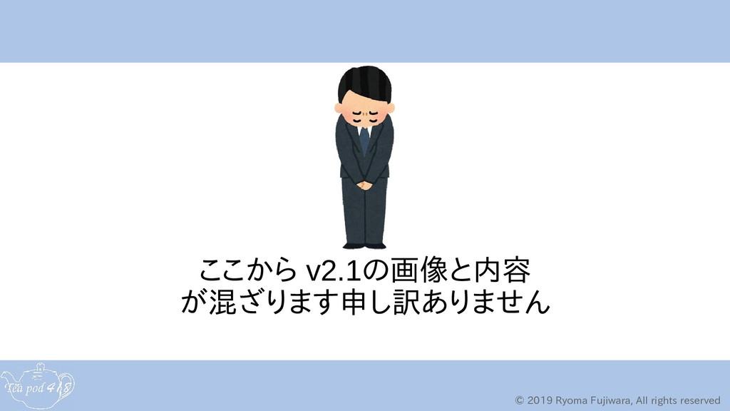 © 2019 Ryoma Fujiwara, All rights reserved ここから...