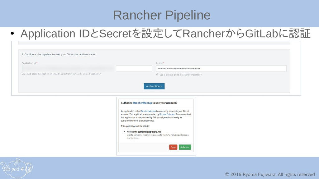 © 2019 Ryoma Fujiwara, All rights reserved Ranc...