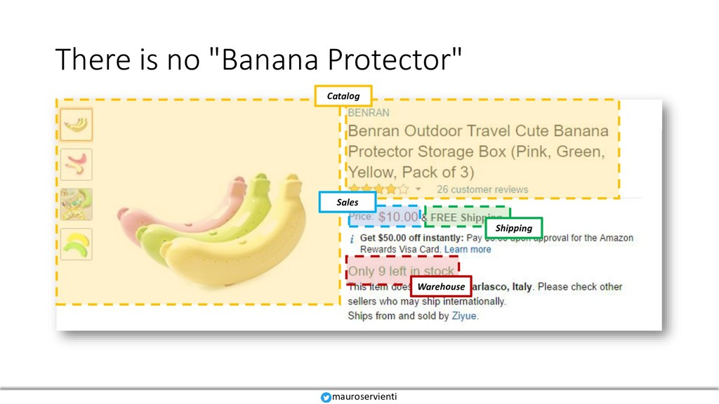"There is no ""Banana Protector"" Sales Warehouse ..."