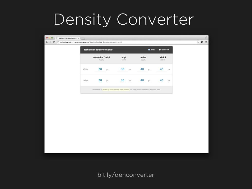 Density Converter bit.ly/denconverter