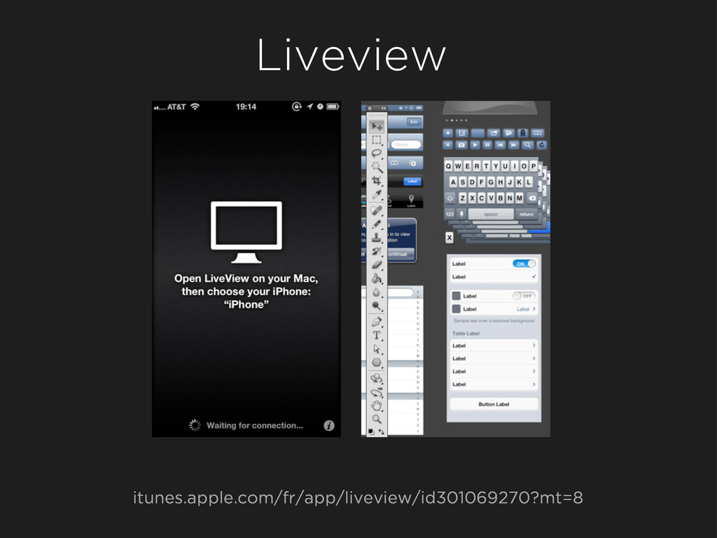 Liveview itunes.apple.com/fr/app/liveview/id301...