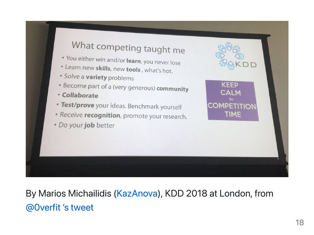 By Marios Michailidis (KazAnova), KDD 2018 at L...