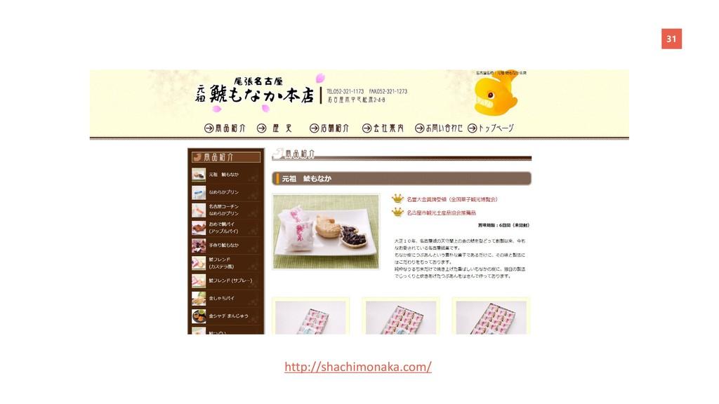 31 http://shachimonaka.com/