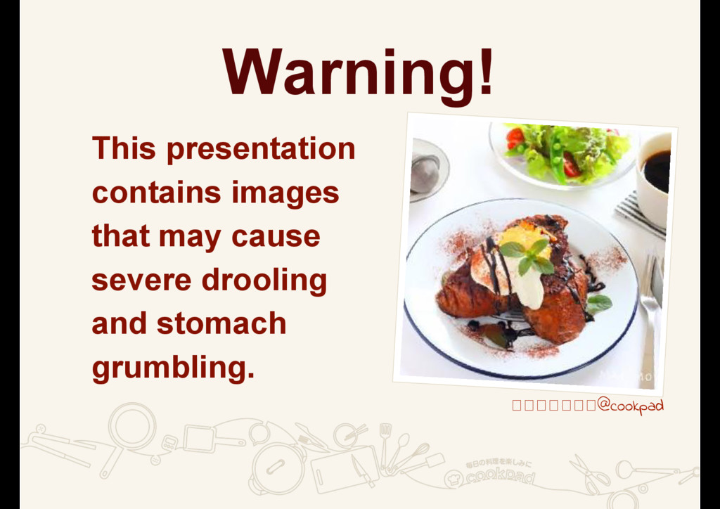 Warning! This presentation contains images that...