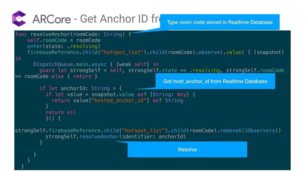- Get Anchor ID from Realtime Database func res...