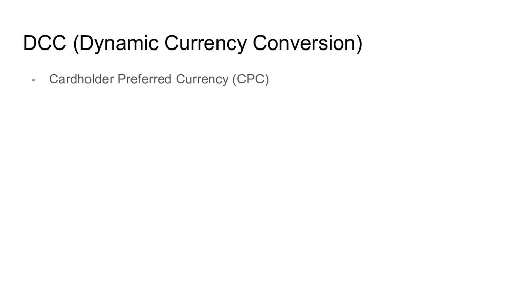 DCC (Dynamic Currency Conversion) - Cardholder ...