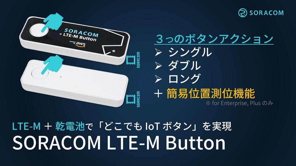 LTE-M + 乾電池で「どこでも IoT ボタン」を実現 SORACOM LTE-M But...
