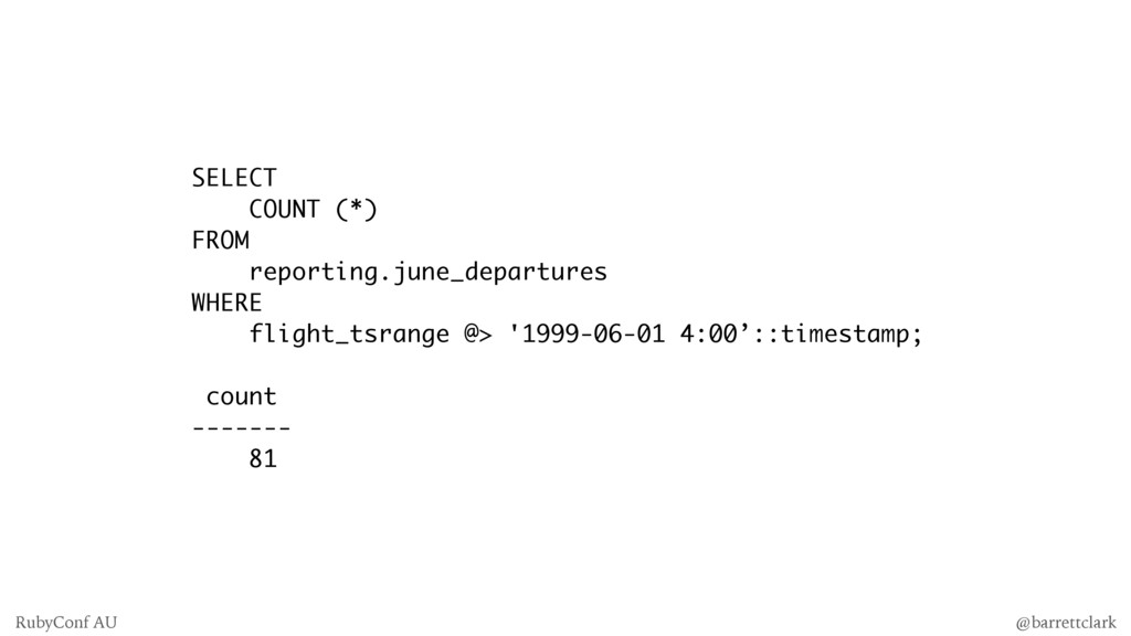 SELECT COUNT (*) FROM reporting.june_departures...