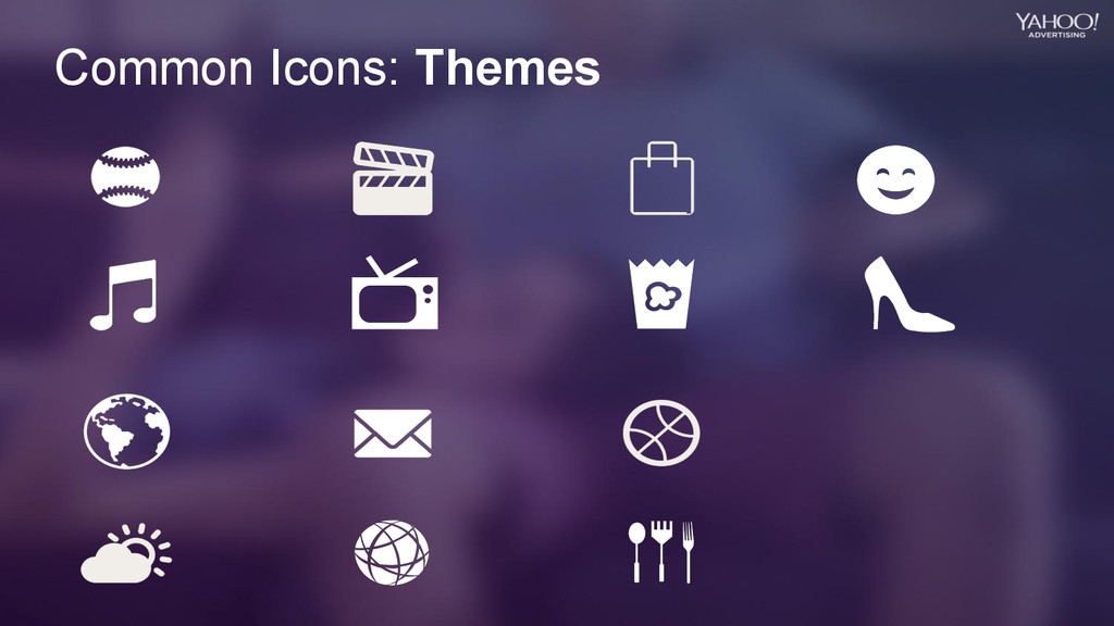 Common Icons: Themes