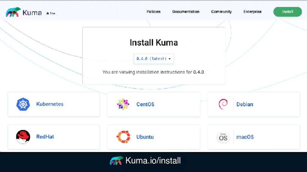 Kuma.io/install