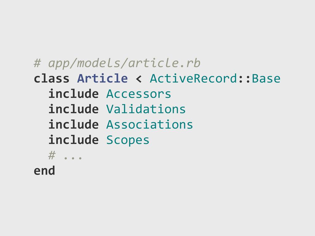 "#""app/models/article.rb class)Article)<)ActiveR..."
