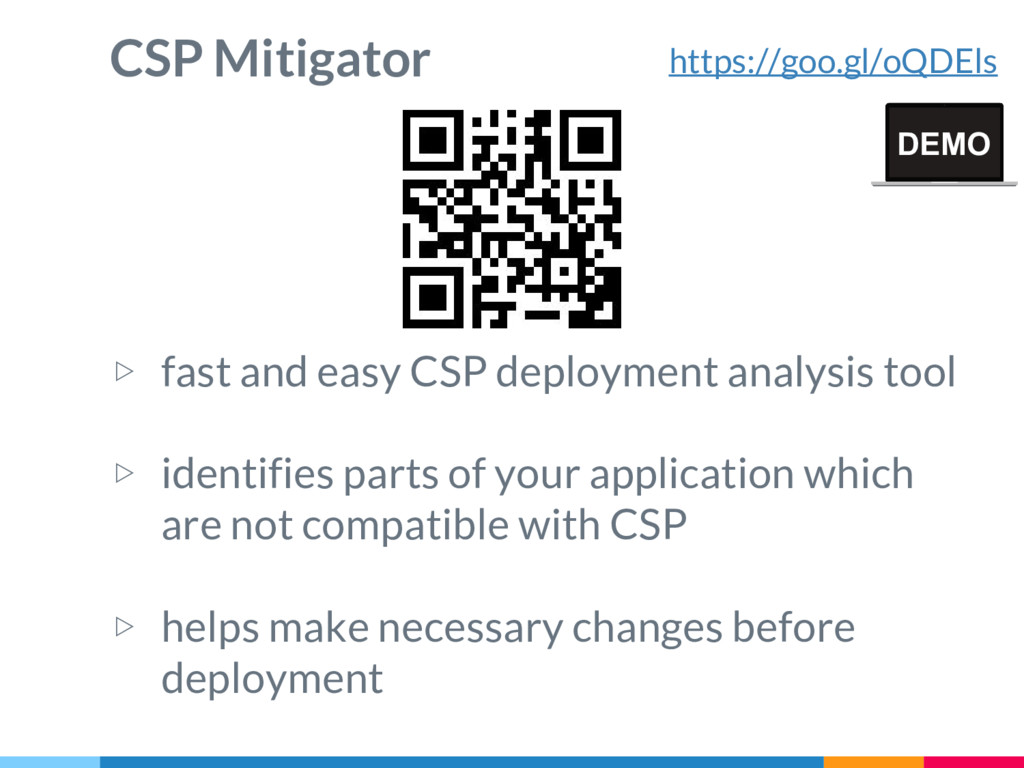 CSP Mitigator ▷ fast and easy CSP deployment an...