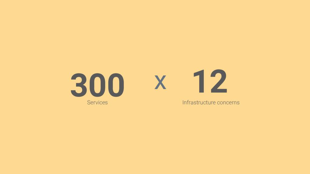 300 12 Services Infrastructure concerns x
