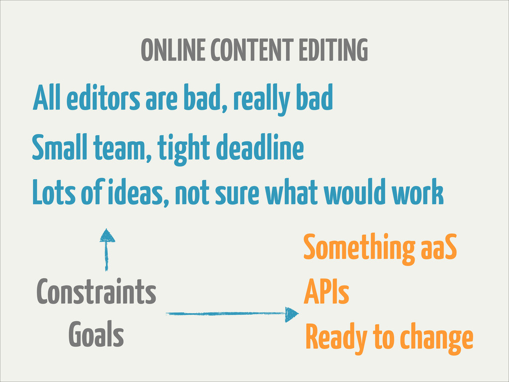 All editors are bad, really bad ONLINE CONTENT ...